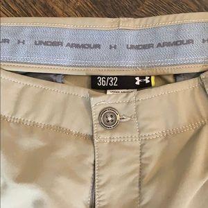 Under Armour khaki golf pants